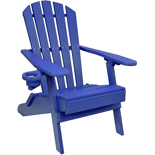 9. Outer Banks Value Line Poly Lumber Adirondack Chair