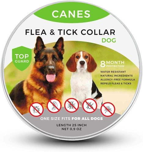 2. SOBAKEN Flea and Tick Prevention for Dogs