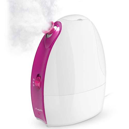 10. Facial Steamer, Nano Ionic Facial Steamer Professional Home Facial