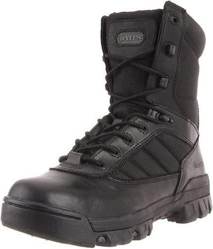 5. Bates Women's Ultra-Lites 8 Inches Tactical Sport Side-Zip Boot