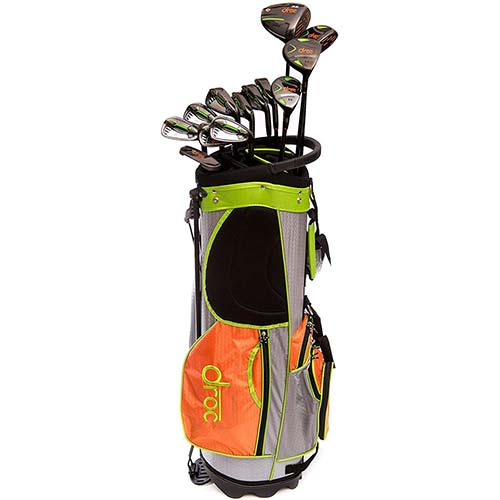 2. Droc - Droc Signature Series Right Hand Men 13 Pieces Golf Clubs Set and Golf Bag