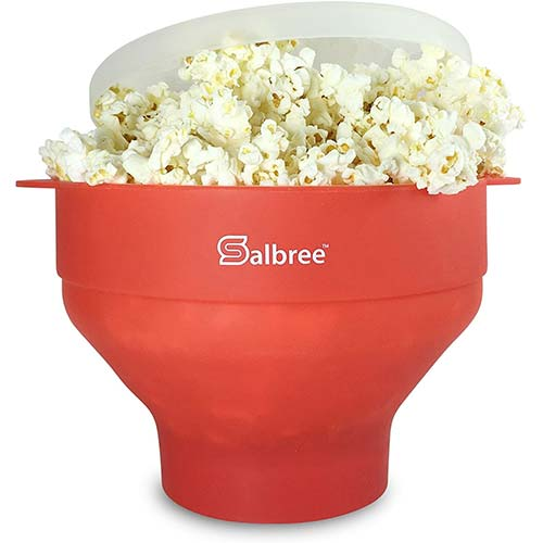 1. Original Salbree Microwave Popcorn Popper