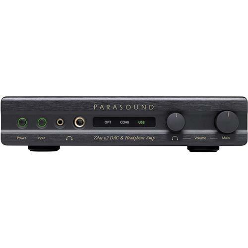 6. Parasound Zdac v.2 DAC & Headphone Amp