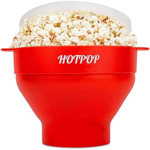 8. The Original Hotpop Microwave Popcorn Popper