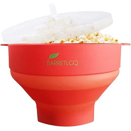 7. Silicone Microwave Popcorn Popper
