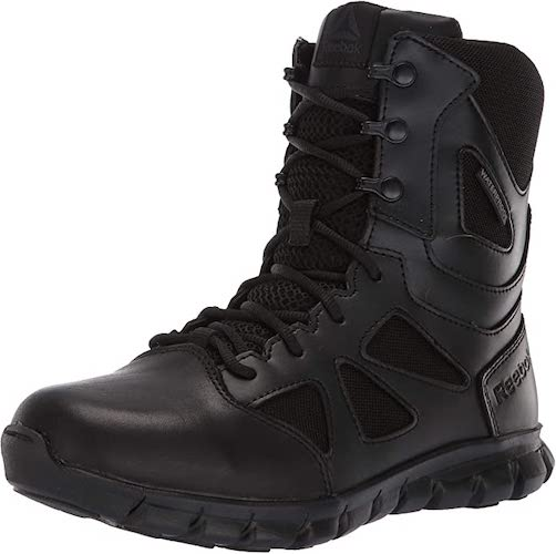 10. Reebok Women's Sublite Cushion Tactical RB806 Military & Tactical Boot