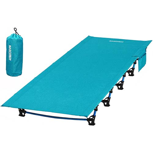 3. MARCHWAY Ultralight Folding Tent Camping Cot Bed