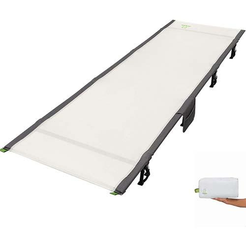 10. ATEPA Ultralight Compact Camping Cot