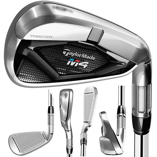 6. TaylorMade Golf- 2018 M4 Irons 5-PW Regular Flex