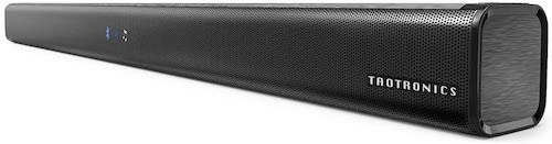 5. Soundbar, TaoTronics Three Equalizer Mode Audio Speaker for TV, 32-Inch Wired & Wireless Bluetooth 4.2 Stereo Soundbar