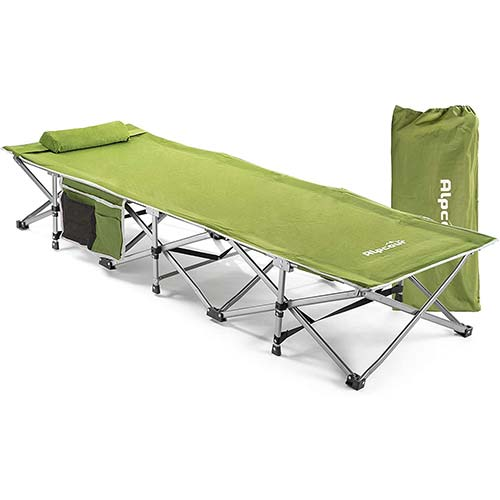 8. Alpcour Folding Camping Cot