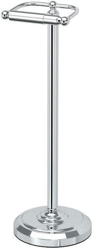 3. Gatco 1436C Pedestal Toilet Paper Holder, Chrome