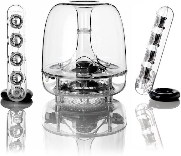 5. Harman Kardon Soundsticks III 2.1 Channel Multimedia Speaker System