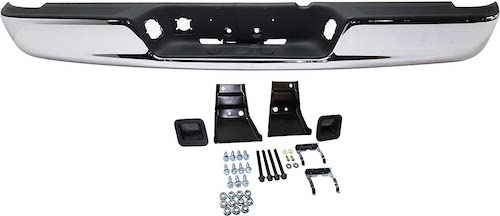 6. Step Bumper Assembly Compatible with 2002-2008 Dodge Ram 1500