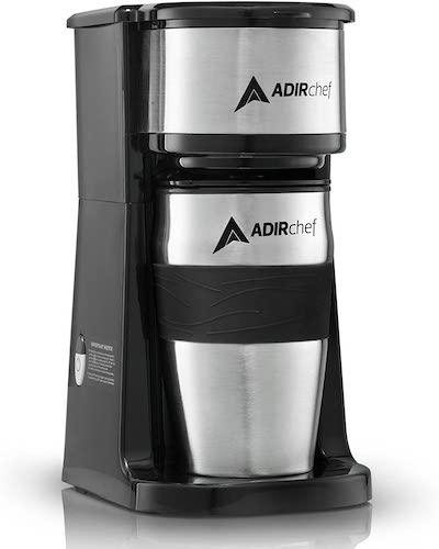 6. AdirChef Grab N' Go Personal Coffee Maker