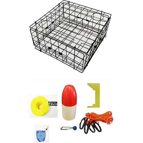 6. KUFA Vinyl Coated Crab Trap Accessory Kit