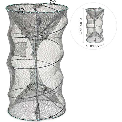 8. RUNACC Folded Fishing Net Trap