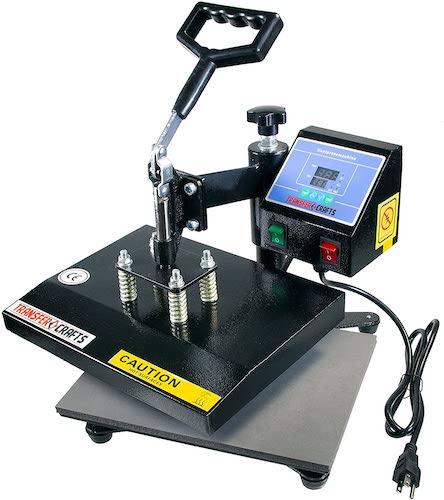 6. Transfer Crafts T-Shirt Heat Press & Digital Sublimation Machine