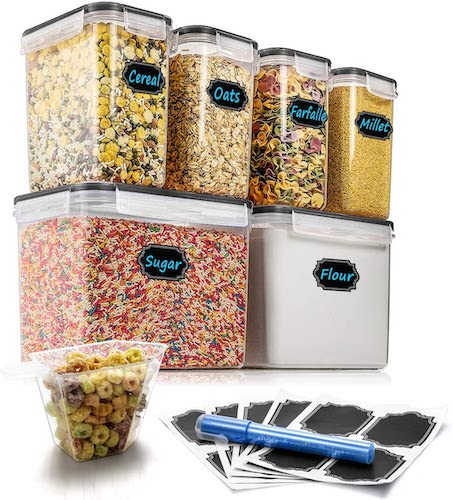 Top 10 Best Dry Food Storage Containers in 2020 Reviews