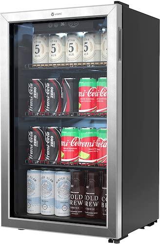 1. Vremi Beverage Refrigerator and Cooler
