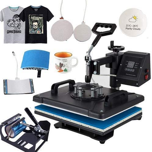 5. Beautysail Heat Press, Transfer The Press 12X15 5IN1
