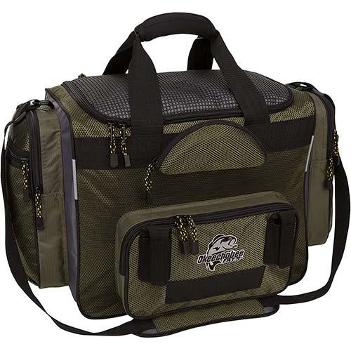 2. Okeechobee Fats Fisherman Deluxe Tackle Bag
