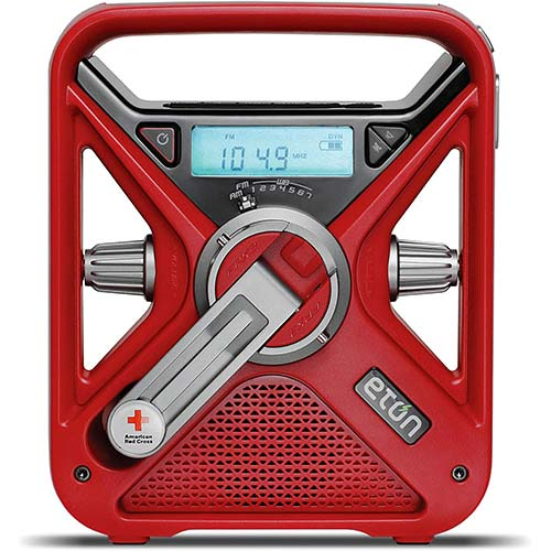2. American Red Cross Emergency NOAA Weather Radio