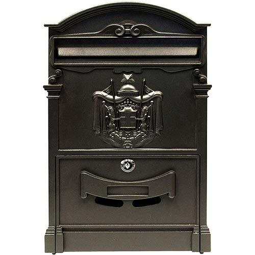 10. ALEKO USMB-05BK Elegant Wall Mounted Mail Box