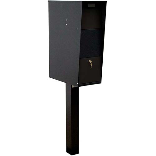 7. Qualarc WF-VACMB-PST Large Capacity Galvanized Steel Locking Rust Proof Vacation Mailbox