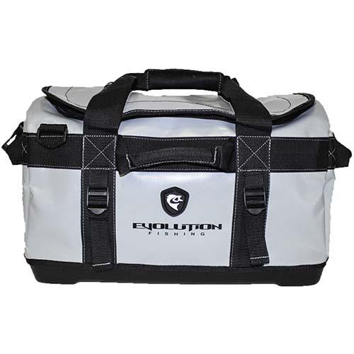 8. Evolution Outdoor Design Gray Tarpaulin Series Duffel Gear Bag