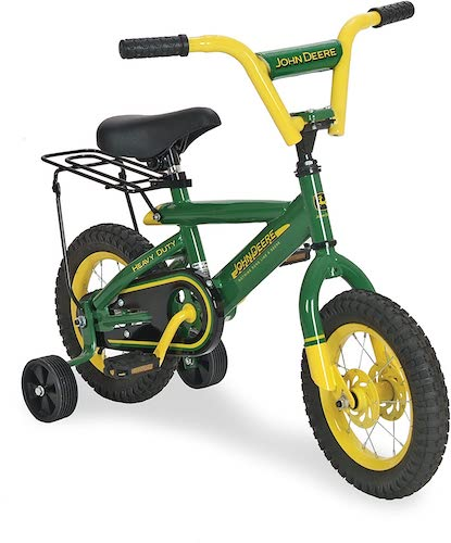 7. TOMY John Deere Heavy Duty Kids Steel Bicycle