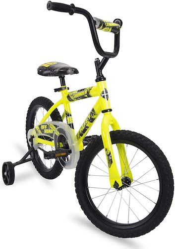 3. Huffy Kids Bikes 16 & 20 inch with Streamers and BMX Pegs