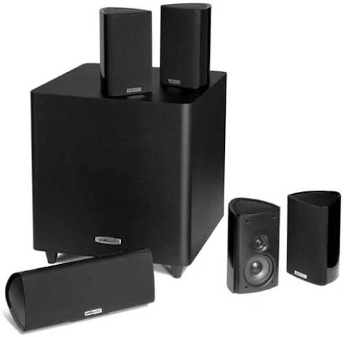 8. Polk Audio RM705 5.1 Home Theater System (Set of Six, Black)