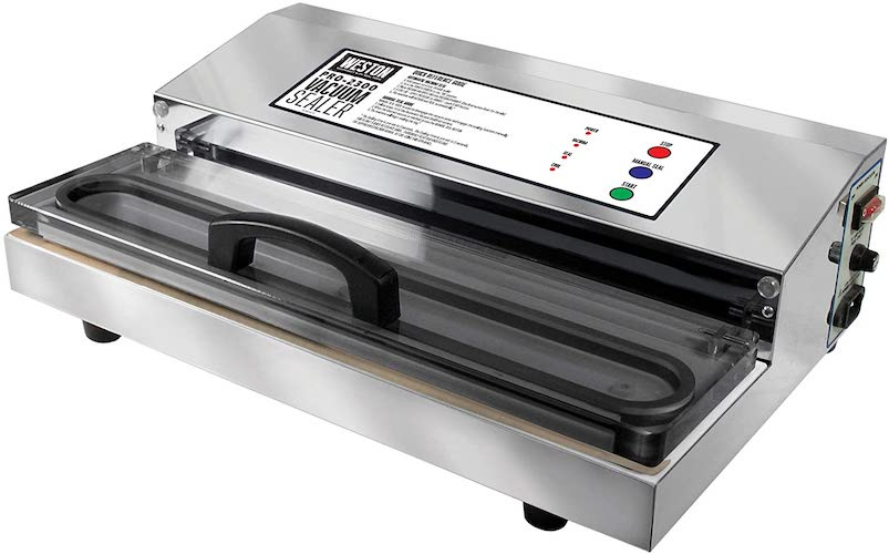 10. Weston Pro-2300 Commercial Grade Stainless Steel Vacuum Sealer