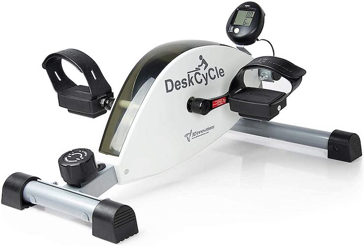 4. DeskCycle Under Desk Cycle,Pedal Exerciser - Stationary Mini Exercise Bike