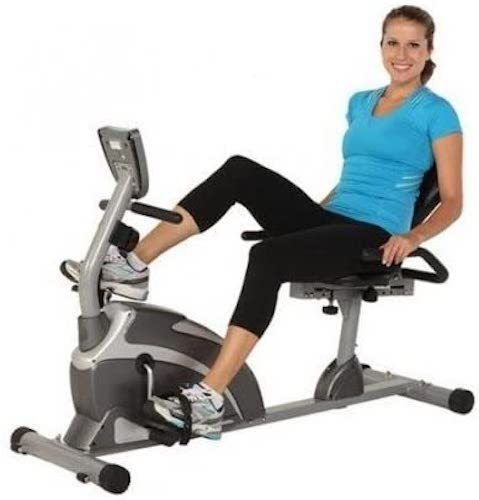 10. Exerpeutic 1000 Magnetic Hig Capacity Recumbent Exercise Bike