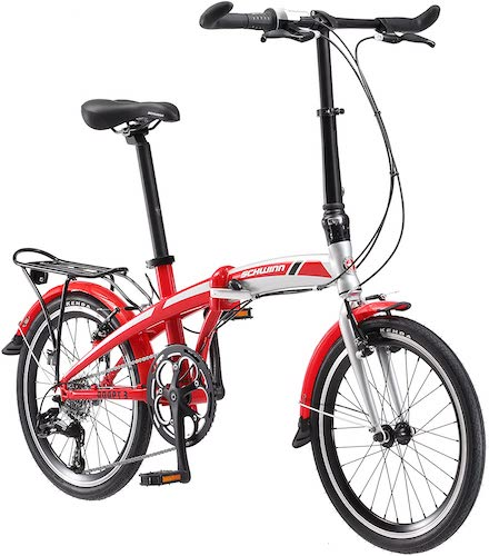 8. Schwinn Adapt 1, 2, and 3 Folding Bike, 20-inch Wheels