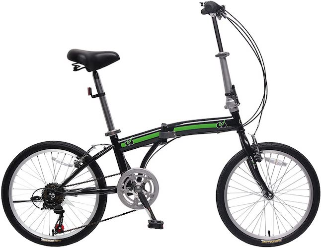6. IDS unYOUsual Folding Bike Lightweight Aluminum Frame