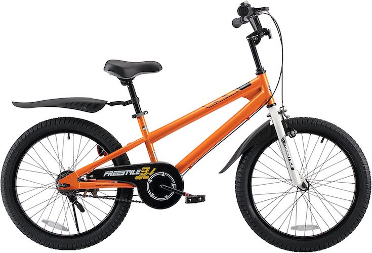 7. RoyalBaby Kids Bike Boys Girls Freestyle Bicycle 12 14 16 inch with Training Wheels