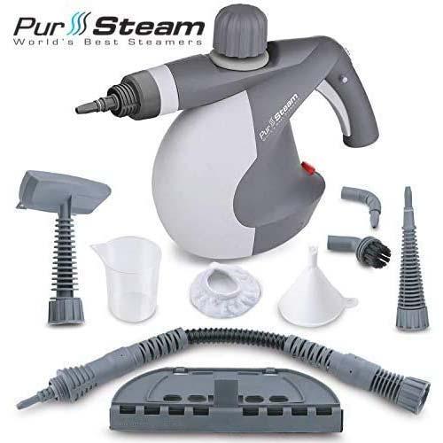 3. PurSteam World's Best Steamers Chemical-Free Cleaning PurSteam Handheld Pressurized Steam Cleaner