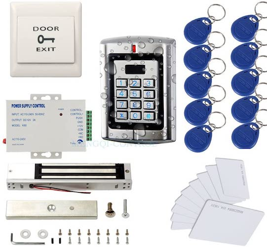 5. Metal Weatherproof Access Control System 600LBS Force Electric Magnetic Lock