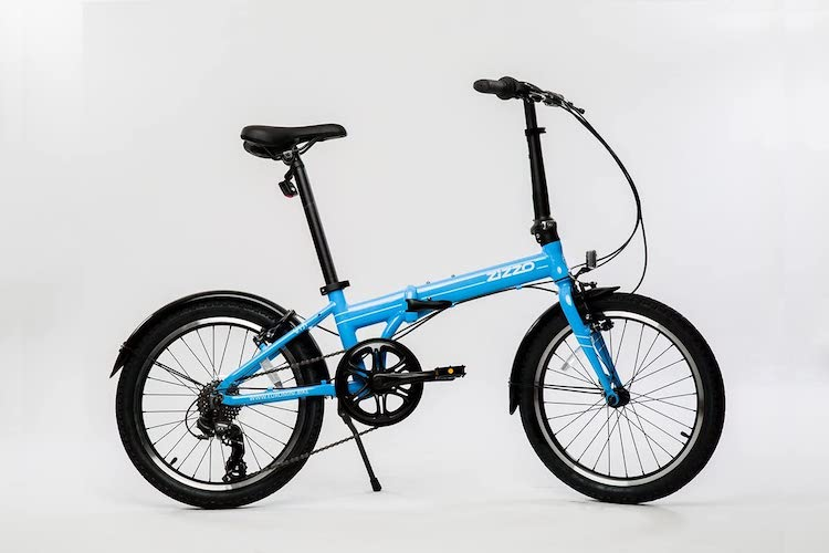 3. EuroMini ZiZZO Via 27lb Folding Bike