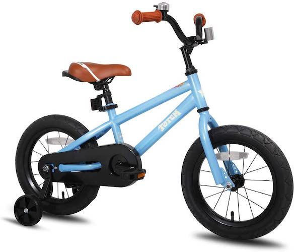 3. JOYSTAR Totem Kids Bike with Training Wheels