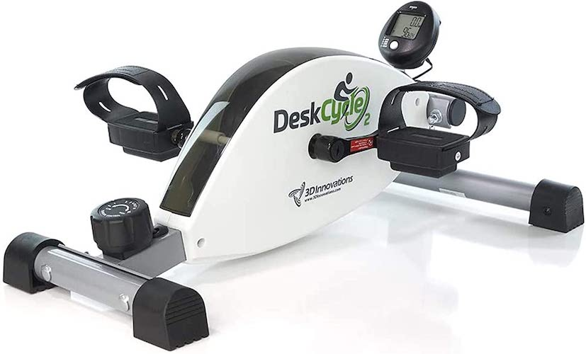 7. DeskCycle 2 Under Desk Cycle, Pedal Exerciser - Stationary Mini Exercise Bike