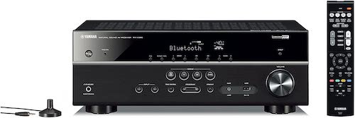 4. Yamaha RX-V385 5.1-Channel 4K Ultra HD AV Receiver