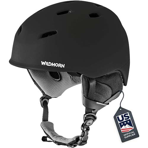 1. Wildhorn Drift Snowboard & Ski Helmet - US Ski Team Official Supplier