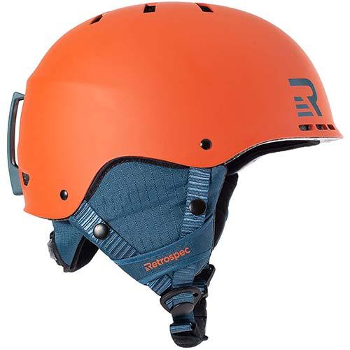8. Retrospec H2 Ski & Snowboard Helmet