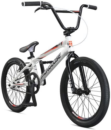 5. Mongoose Title Elite Pro BMX Race Bike, 20-Inch Wheels, Advanced Riders