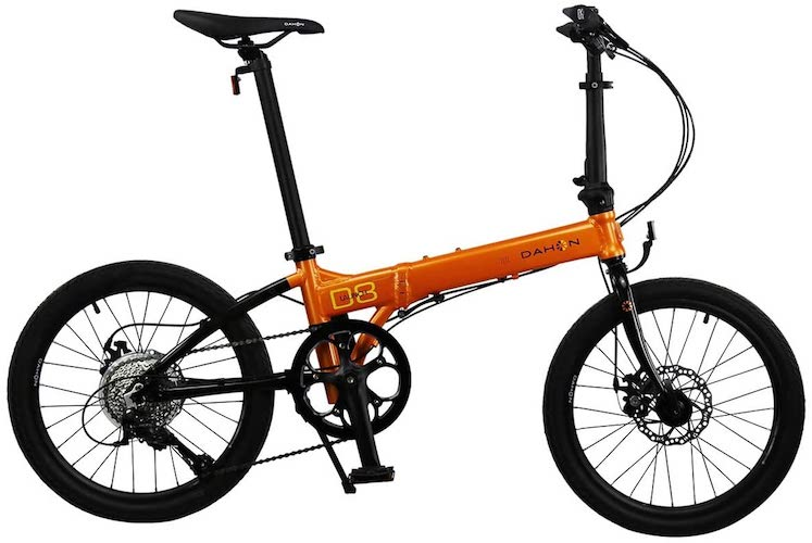 10. Dahon Folding Bikes Launch D 8, 20 In. Wheel Size