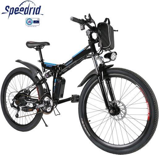 8.Speedrid 26 Electric Bike for Adults, Electric Mountain Bike/Electric Commuting Bike